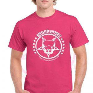 Rózsaszín Pittbull - Mi a fasz van póló